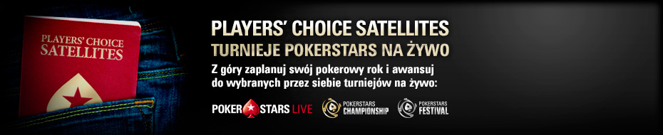 Players' Choice Satellites – PokerStars Live Events